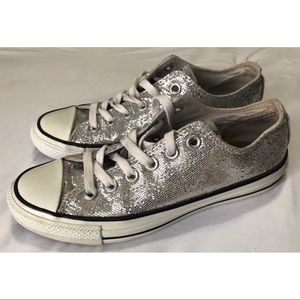 GLITTER LOW TOP CONVERSE 💖